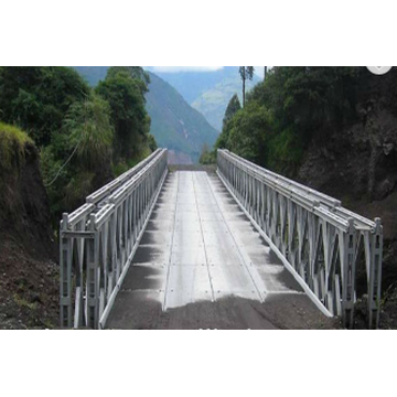 Galvanized Pedestrian Bridge Steel