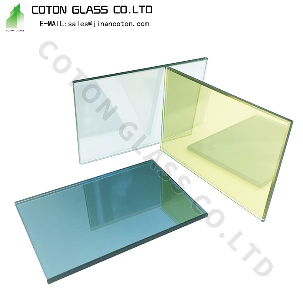 Caribbean Blue Reflective Fire Glass
