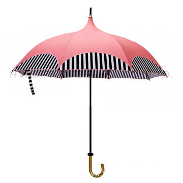 Sun Blocking Women Folding Pagoda Umbrella Parasol