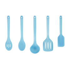 Professional for Cool Silicone Kitchen Tools Food Grade 5Pcs Full Silicone Cooks Tools Cookware export to Netherlands Factory