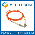 Single Mode / Multi Mode 50 / 125 Fiber Optic Patch Cord Simplex With PVC For Network
