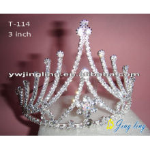 Cheap Pageant Crowns Rhinestone Tiaras For Sale