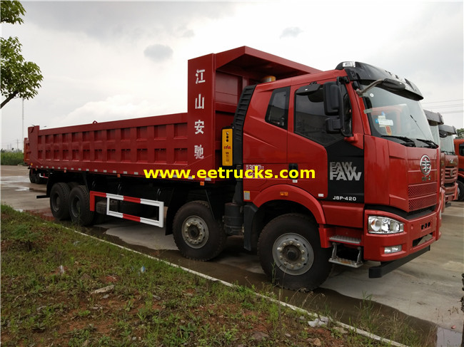 FAW 12 Wheel Dump Trucks