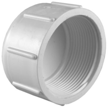 PVC Pipe End Screw Cap Threaded End Cap