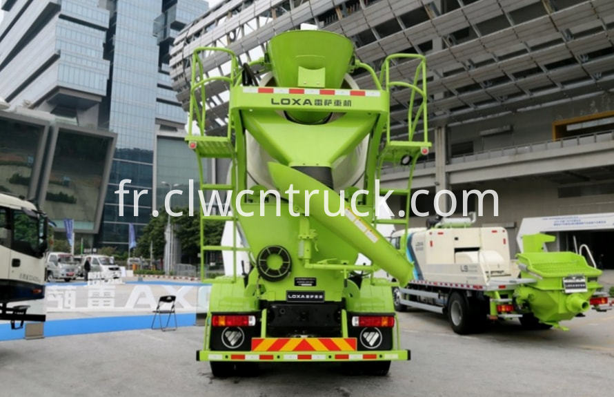 new concrete mixer truck 4
