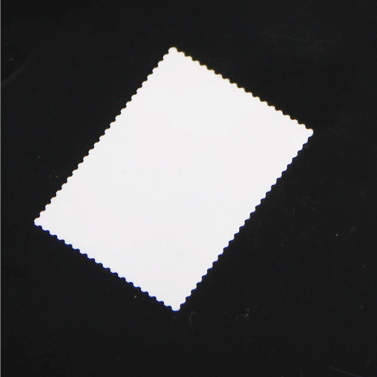 Thin film zirconia ceramic plate