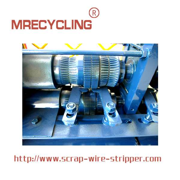 metal recycling machine
