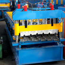 Step roof glazed tile machine