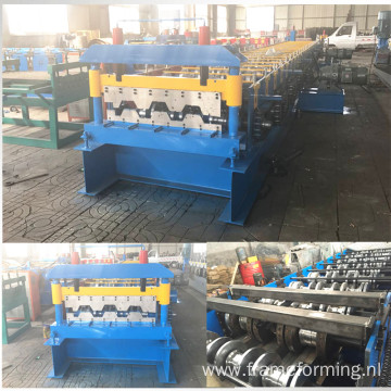 steel floor tile rolling machine