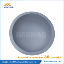 Aluminum alloy steel seamless cap