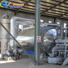 factory low price Used for Batch Waste Plastic Pyrolysis Plant Crude Oil from Tyres export to French Guiana Importers
