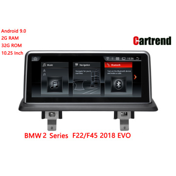 BMW 2 сериялары F22 / F45 2018 Headunit Audio