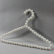 White Pearl Clothes Shop Hanger