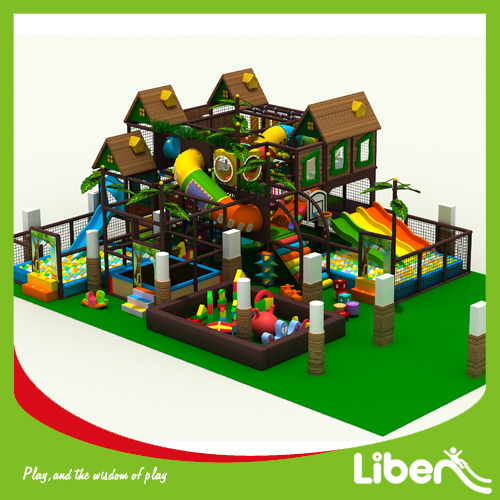 Kids indoor playground jungle gym