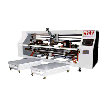semi automatic high speed carton stitcher machine double piece