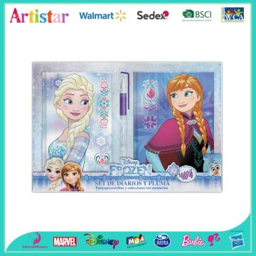 Disney Frozen three-pack diary set