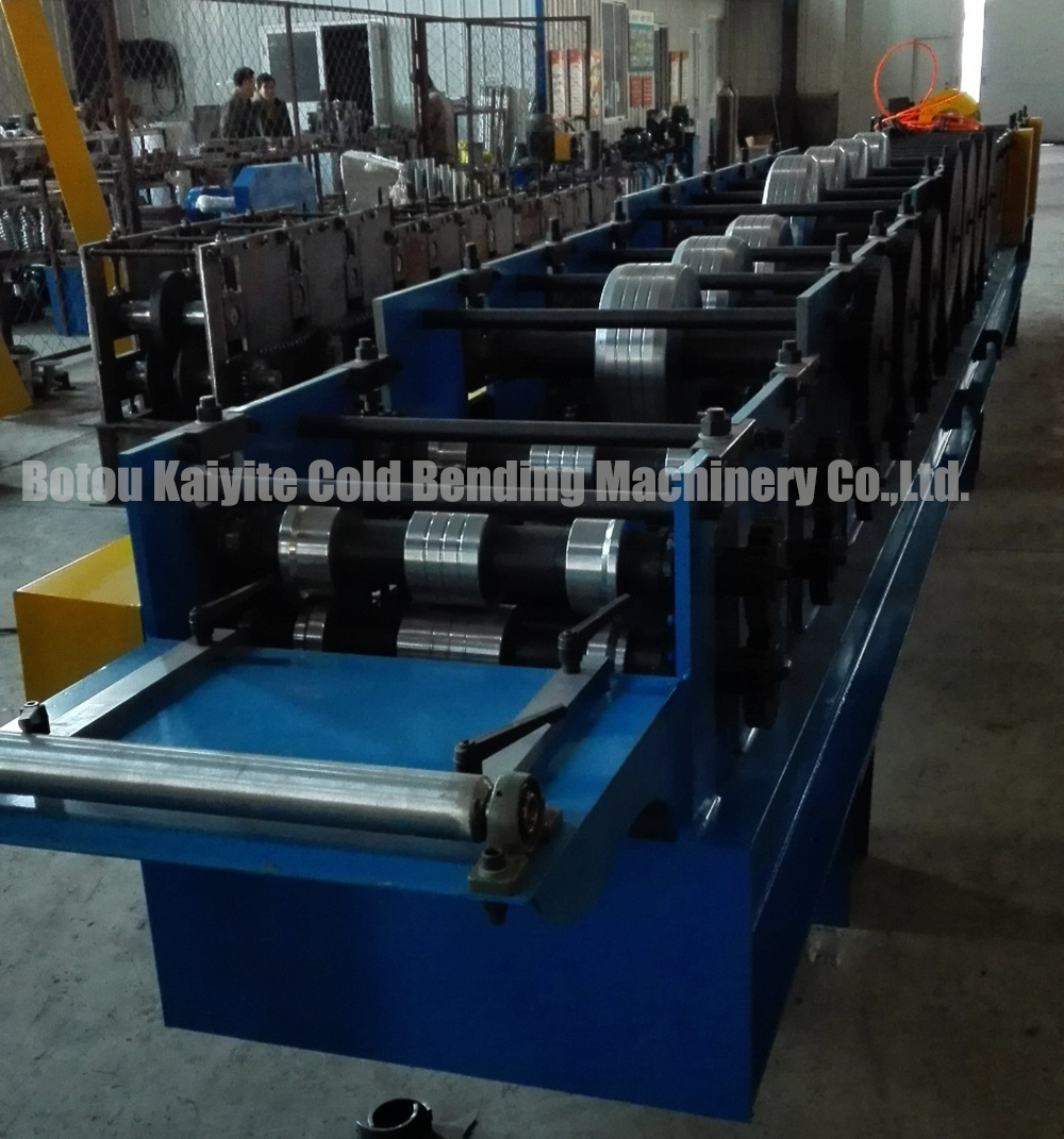 Used Downspout Pipe Forming Machine