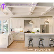 New Fashion Design for Kitchen Cabinet Designs New shaker frameless kitchen cabinet for sale supply to France Suppliers