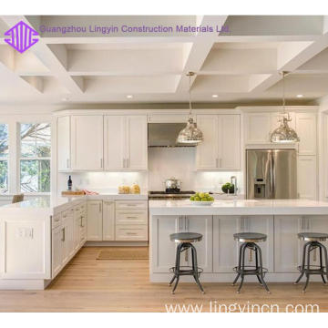 OEM/ODM Factory for Wooden Kitchen Cabinet New shaker frameless kitchen cabinet for sale export to Indonesia Suppliers