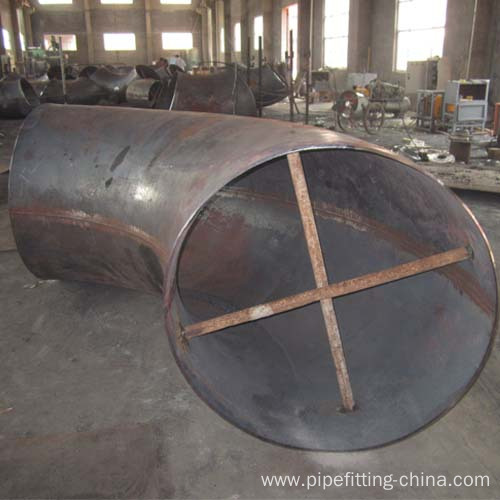 Large-Diameter Welded Elbow Size