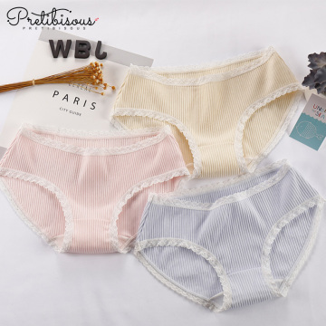 Women cotton underwear female comfortable boxer shorts