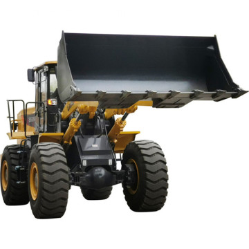 Easy operating mini articulated wheel loader