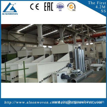 highly stable ALKS1500 bale opener machine mahcine witdth 1.5m Paper felt