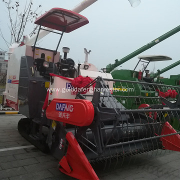 Factory supply fuel-efficient HST rice harvester for sale