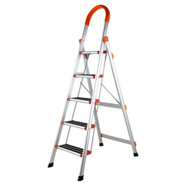 Household foldable step ladder