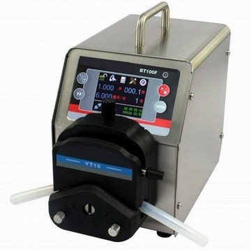 Precise liquid dispense milk peristaltic pump