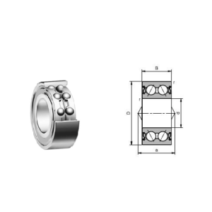 High speed angular contact ball bearing(71912C/71912AC)