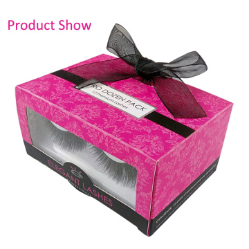 Eco-Friendly Material Custom Eyelashes Paper Box