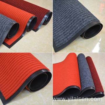High quality stripe mat personalized heavy duty mats