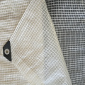 Clear Transparent Leno Mesh Tarpaulin