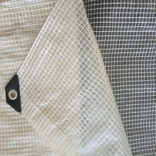 Top for Supply Clear Tarp,Shade Tarps,Painters Tarp,Lumber Tarps to Your Requirements Clear Transparent Leno Mesh Tarpaulin supply to United States Exporter