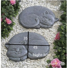 Wholesale Price for Stone Dog Statue G654 granite sleeping cat supply to Italy Factories
