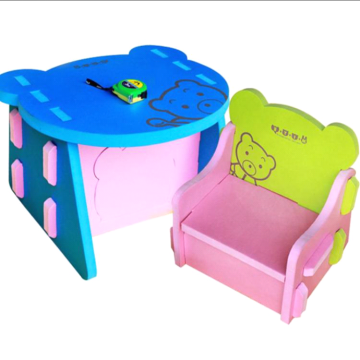 Customized Environmental EVA Chair and Desk Set