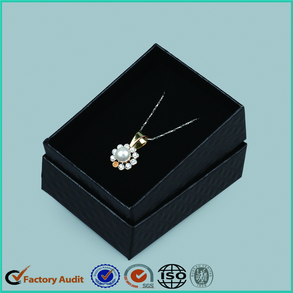 Luxury Jewelery Paper Packaging Box With Logo