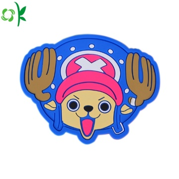 Eco-friendly Cartoon Silicone Cup Coaster for Sale