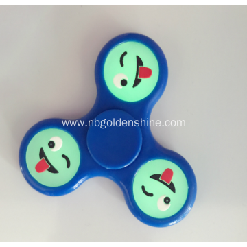 Glow In The Dark Smile Face Hand Spinner