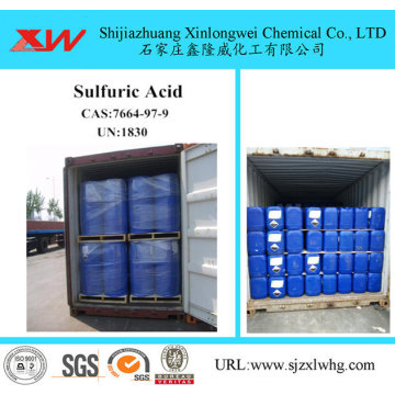 Battery Grade Sufuric Acid Sulphuric Acid 32%-50%