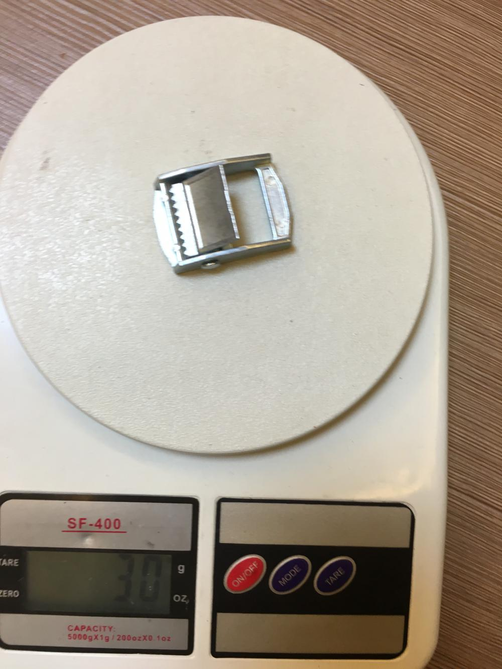 1 Inch Steel Cam Buckle With 250Kgs