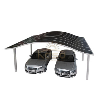 Portable Aluminum Cantilever Car Garage Folding Carport