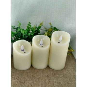 Factory wholesale LED candle with battery