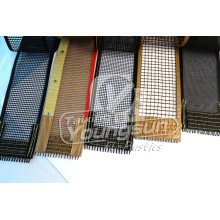 Heat resistance PTFE Coated Fiberglass mesh Fabric