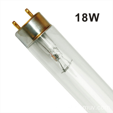 Professional air disinfection double-ended UV-C lamp