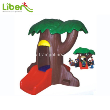 Kids plastic playhouse indoor