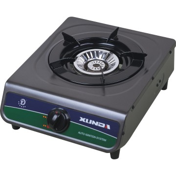 Single Burner High Strength Glass Gas Cooker