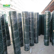 Green  euro steel fence