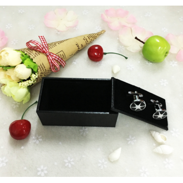 Leatherette paper cufflink gift box